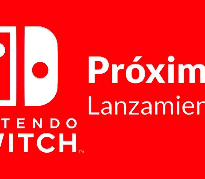 Listado próximos lanzamientos Nintendo Switch en octubre