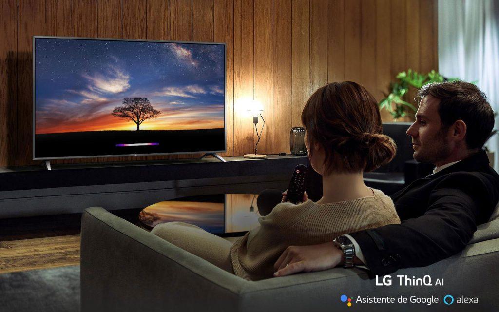 LG 55SM8500PLA IA ThinQ con Asistente de Google y Alexa