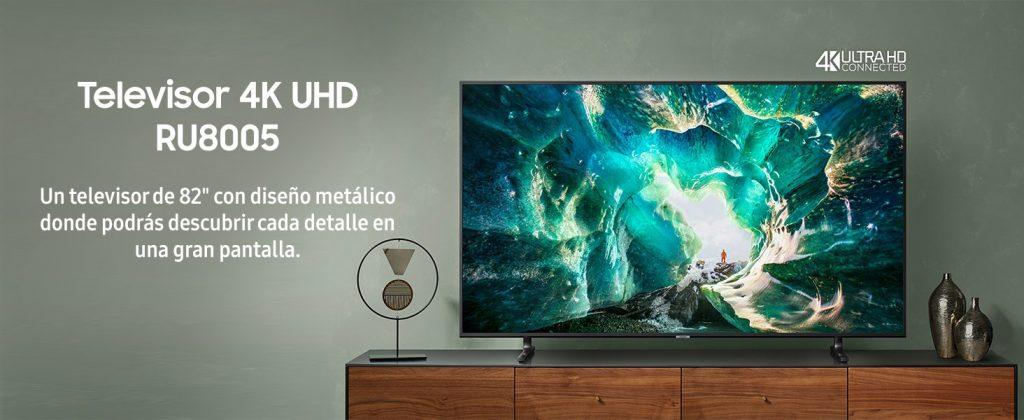 Televisor 4K UHD RU8005