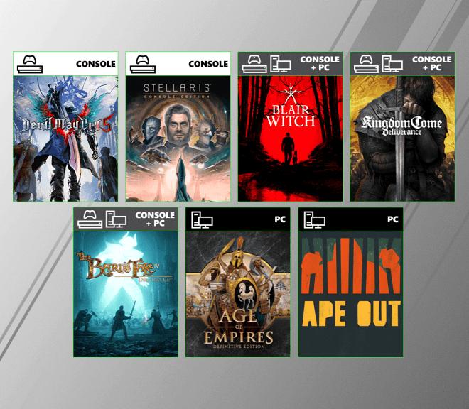 Nuevos juegos para Xbox Game Pass en la Gamescom 2019
