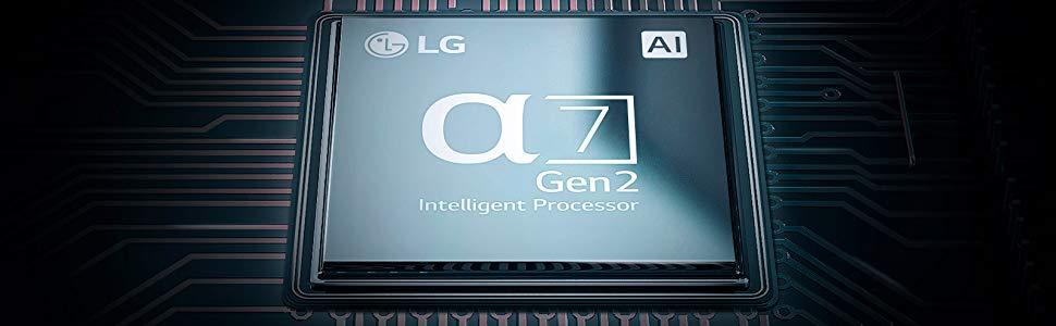 LG procesador inteligente a7 a 12 bits de segunda generación