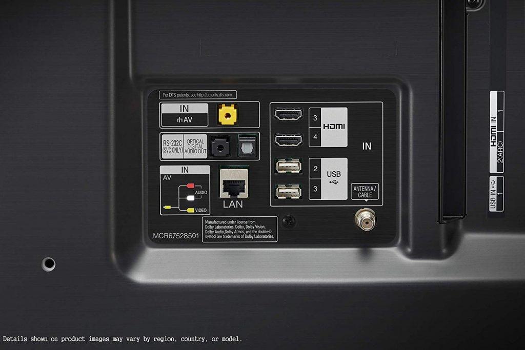 Conexiones LG 55SM8500PLA