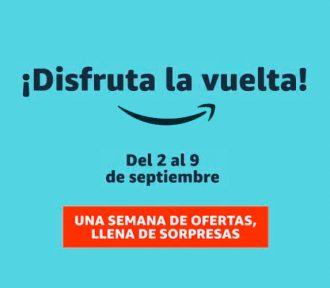 Ofertas destacadas en la vuelta al cole de Amazon del 2 al 9 de septiembre