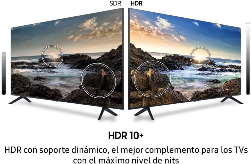 Samsung TU8005 HDR