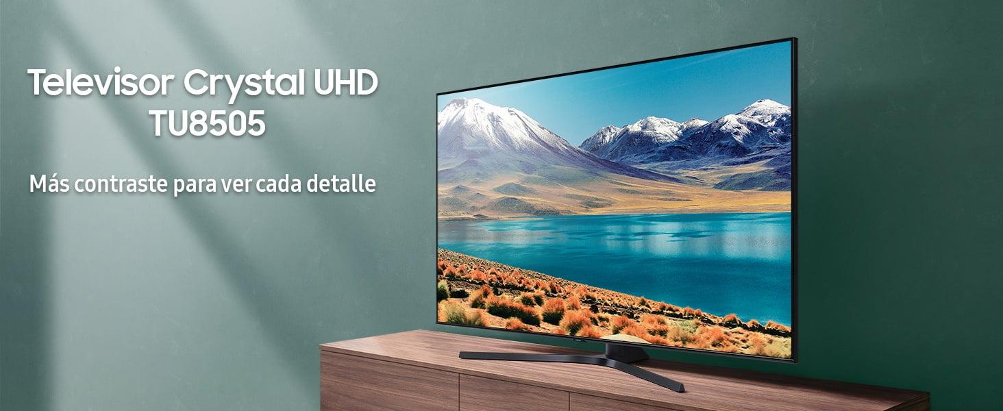 Samsung Crystal UHD 2020 55TU8505, análisis: características, especificaciones y opinión – Review TU8505