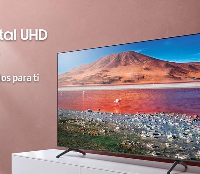 Samsung Crystal UHD 2020 43TU7005, análisis: características, especificaciones y opinión – Review TU7005