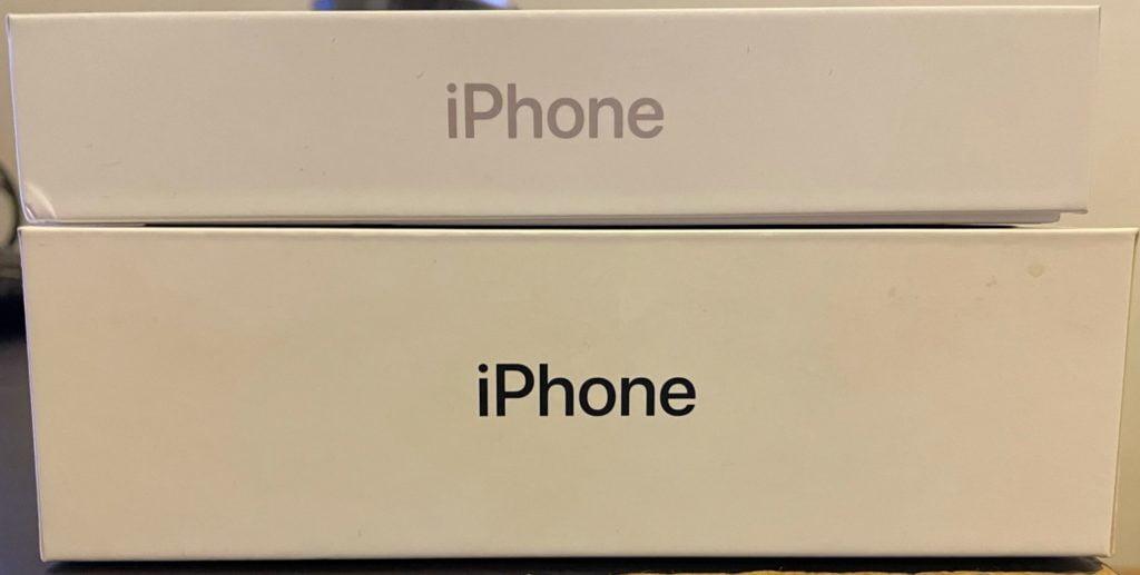 caja iphone 12 y 7