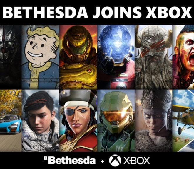 Bethesda se une a Xbox y desembarca con 20 juegos para el Game Pass