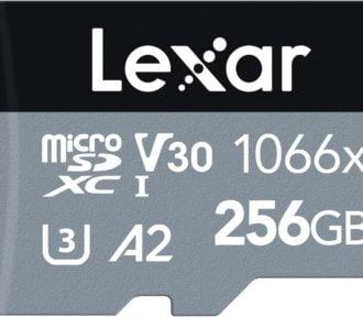 Mejores tarjetas SD/MicroSD 256GB para grabar a 4K en tu móvil o cámara